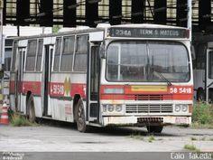 Ônibus da empresa CMTC - Companhia Municipal de Transportes Coletivos, carro 58…