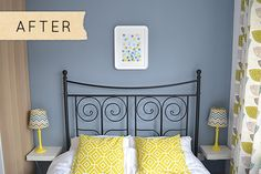 DesignSponge Yorkshire Bedroom paint color