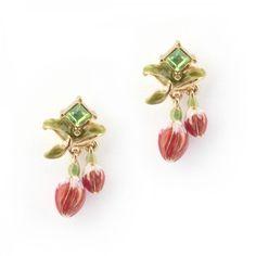 Fuchsia Stud Fine Jewelry, Floral, Earrings, Florals, Flower, Jewlery, Jewelry