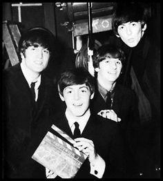 John Lennon, Paul McCartney, Richard Starkey, and George Harrison