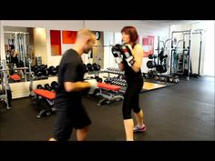 Rob Stevens - running through some boxing drills with a client. Click: https://www.youtube.com/watch?v=hRwK_bdiUYc #fitness