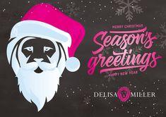 Seasons Greetings from Delisa Miller Happy New Year, Merry Christmas, Seasons, Merry Christmas Background, Happy New Years Eve, Happy Merry Christmas, Wish You Merry Christmas, Four Seasons, Happy 2015