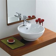 Looking for a countertop basin that looks great? This Phoenix basin is perfect for installing in any bathroom on a countertop or vanity unit. Providing instant wow factor and luxury at affordable prices. Cloakroom Sink, Bathroom Sink Design, Bathroom Basin, Bathroom Cupboards, Cabinets, Small Downstairs Toilet, Small Toilet Room, Countertop Basin, Countertops