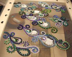 Авторская вышивка люневильским крючком от Виктории Бойко