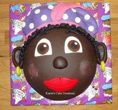 Pieten taartje door Karen Karen, Cake Creations, Fondant, Desserts, Image, Food, Tailgate Desserts, Deserts, Essen