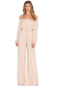 Off the shoulder jumpsuit from Rachel Pally