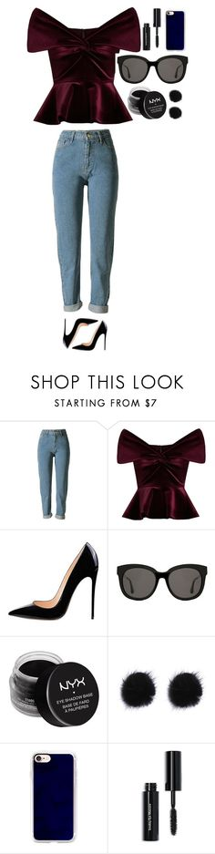 """""""Untitled #339"""" by dutchfashionlover ❤ liked on Polyvore featuring Emilio De La Morena, Gentle Monster, NYX, Casetify and Bobbi Brown Cosmetics"""