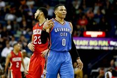 Westbrook Pours In 42 Points To Lead Thunder Past Pelicans