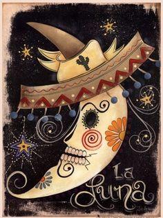 Wall Decor Pictures, Print Pictures, Framed Art Prints, Fine Art Prints, Poster Prints, Sugar Skull Artwork, Sugar Skulls, Day Of The Dead Skull, Mexican Folk Art