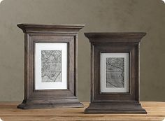 Picture frames with molding added
