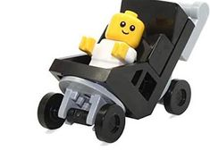 Miniature Baby Stroller 12th scale/ Miniature for doll   Etsy Dollhouse Dolls, Miniature Dolls, Dollhouse Miniatures, Strollers For Dolls, Baby Strollers, Lego Winter Village, Lego Baby, Pram Toys, Lego Craft