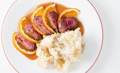 Classic Duck Bigarade. This is the original duck a l'orange, only this one is not sweet and gloppy. My recipe is inspired by one from the 1800s. Recipe on http://honest-food.net