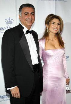 Reza Pahlavi and Princess Yasmine Pahlavi..........http://www.pinterest.com/madamepiggymick/arab-royalty-iran/