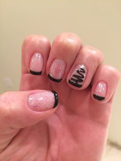 My Christmas nails :-)