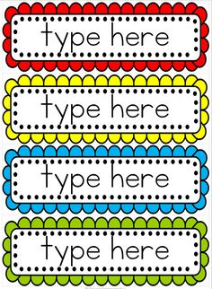 FREE editable word wall template and 18 word wall activities Classroom Organisation, Classroom Setup, Classroom Displays, School Organization, Kindergarten Classroom, Classroom Labels Free, Preschool Displays, Classroom Job Chart, Organizing