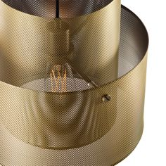 Cyla gold pendant lamp for Bolia