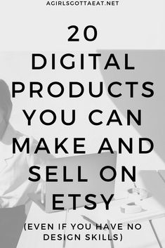 20 types of digital products you can make and sell on Etsy for passive income. Make money online, start an Etsy shop, start a business, sell digital products, passive income. on etsy 20 Digital Products to Sell on Etsy for Passive Income Affiliate Marketing, Content Marketing, Online Marketing, Media Marketing, Digital Marketing, What To Sell, Make And Sell, Sell Diy, Make Easy Money