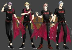 Fanfiction, Mahouka Koukou No Rettousei, Tsukiuta The Animation, Cute Games, Anime Crossover, Emo Boys, Anime Outfits, Aesthetic Anime, Hot Guys