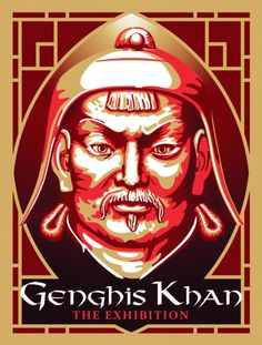 Genghis Khan until Jan 22 North Caroline, Genghis Khan, Mongolia, Wealth, Illustrations, Illustration, Illustrators