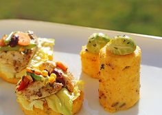 perfekt Polentaschnitten mit Hühnerbrust-Curry Culinary Arts, Pasta Salad, Curry, Ethnic Recipes, Blog, Cooking Recipes, Koken, Crab Pasta Salad, Kalay