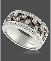 I may have to buy this for myself... it's just lovely. LeVain  Chocolate and White Diamond Band