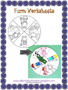 Free now !!!Inlcudes: 9 worksheets, 1 book, 2 dice, 15 flashcards,letter arts and crafts,feed the animals, sort the animals,cow family.as seen on my blog: www.eflpreschoolteahers.blogspot.com