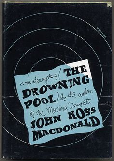 Jacket design: Bill English.(Alfred A. Knopf, 1950.) (Second Lew Archer novel, by Ross Macdonald.)