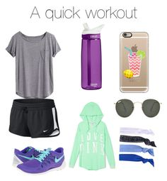 """A quick workout"" by powellsamantha-1 on Polyvore"