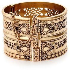 Lucky Brand Tribal Hinge Cuff - you can get it old or you can get the look new