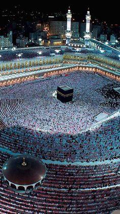 Muslim Images, Islamic Images, Islamic Pictures, Islamic Art, Mecca Wallpaper, Quran Wallpaper, Islamic Quotes Wallpaper, Alhamdulillah, Mekka Islam