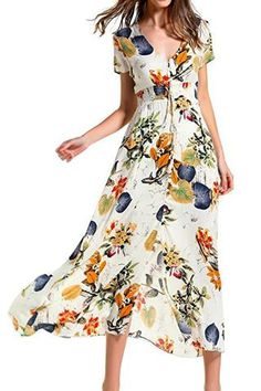 Fresh as the first breeze of a forest in the morning, this Floral Print Front...