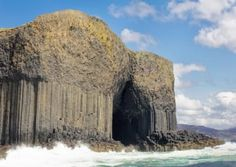 TRAVEL website Green Global Travel have found 10 amazing caves for your world travel bucket list and it includes Fingal's Cave in Scotland. Fingal's Cave, Sea Cave, Caves, Tasmania, Places To Travel, Places To See, British Beaches, Lets Run Away, Hidden Places