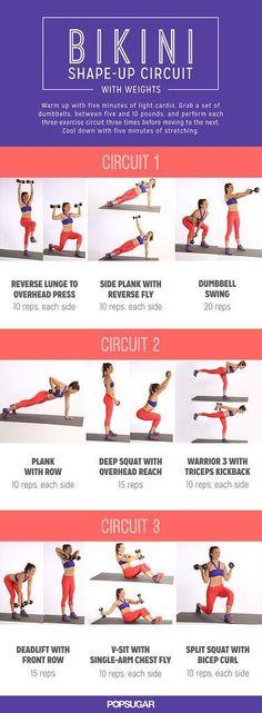 [DRAFT-S] Bikini Shape-Up Circuit With Weights