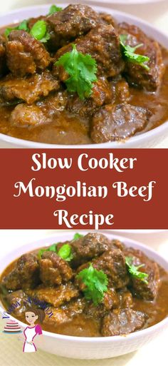 This slow cooker Mongolian beef recipe is a simple; easy and effortless way to get dinner on the table especially on busy days. Plus I show you how to take slow cooking to the next level by getting a beautiful dark color to this delicious gravy.