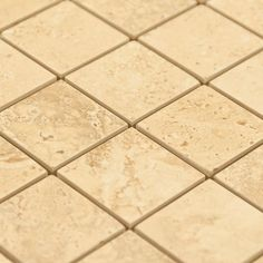 Tarsus Beige Porcelain Mosaic - 12in. x 12in. - 912100808 | Floor and Decor