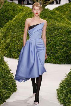 Christian Dior Spring 2013 Couture Fashion Show - Katya Riabinkina (Elite)