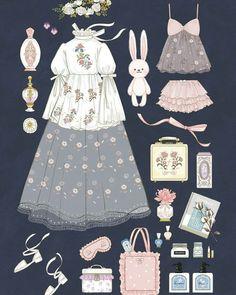 Ideas For Fashion Clothes Illustration