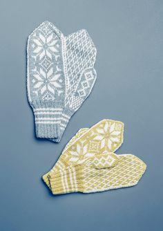 """""""Selbu"""" votter voksen Crochet Mermaid Blanket, Baby Girl Crochet Blanket, Crochet Mittens Free Pattern, Baby Knitting Patterns, Knit Mittens, Knitting Needle Case, Knitting Yarn, Norwegian Knitting, Knitted Hats Kids"""