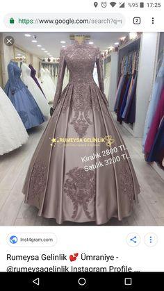 Muslim Fashion, Modest Fashion, Hijab Fashion, Fashion Dresses, Simple Hijab, Fantasy Gowns, Muslim Dress, Muslim Girls, Bridal Dresses