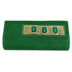 this is img Green Clutches, Zip Around Wallet, Velvet, Brooch, Purses, Bags, Accessories, Beautiful, Handbags