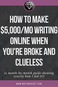 Make money writing online – even if you have no experience. This guide will show you how to become a freelance writer FAST! Check it out. | freelance writing for beginners | freelance writing tips |