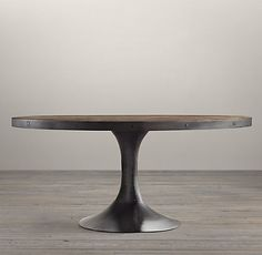 Aero Round Dining Table   Restoration Hardware