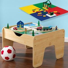 KidKraft 2-in-1 Activity Table with Board - 14668188 - Overstock - Big Discounts on KidKraft Play Sets - Mobile
