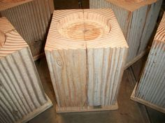 Set6 Large Oversize 6 Furniture Risers for Bed by giftcreations47