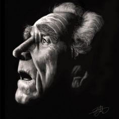 James Whitmore - Portrait