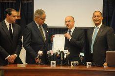 Domínguez Brito presenta portal Transparencia de la Procuraduría General
