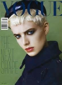 "British model Agyness Deyn (pr. ""Agnes Dean""), Vogue Italia, November ..."