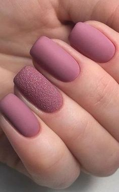 30 Fabulous Matte Nails Design for Short Nails, # for 20 Bold Purple Nails Designs That To Rock This Summer Chic Nail Art, Chic Nails, Trendy Nail Art, Classy Nails, Stylish Nails, Short Nail Designs, Nail Art Designs, Nails Design, Nail Polish Pens