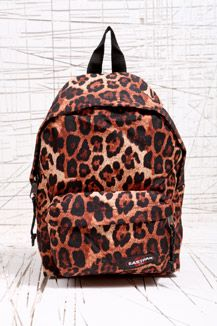 Sundays were made for...    The animal within! Walk on the wild side with this Eastpak leopard print backpack...