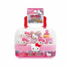 Hello Kitty Picnic Tea Set - Full Set Complete with Carrying Case * Learn more by visiting the image link. Paw Patrol Bedding, Play Grocery Store, Play Market, Hello Kitty Collection, Pretend Play, Easter Baskets, Sanrio, Tea Set, Picnic